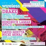 Nicki Minaj, Drake et Kendrick Lamar seront en tête d'affiche au Wireless Festival à Londres