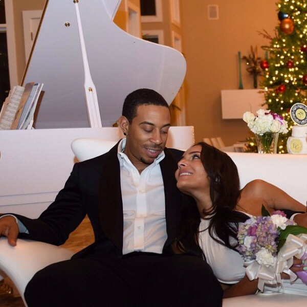 Mariage de Ludacris et Eudoxie Noël 2014