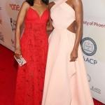 Gabrielle Union, Kerry Washington, Angela Bassett sublimes sur le tapis rouge des NAACP Awards