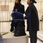 Janet Jackson fait du shopping à Milan