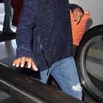 Kerry Washington, au naturel, à l'aéroport de Los Angeles