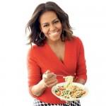 Michelle Obama fait la une de Cooking Light Magazine