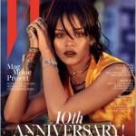 Rihanna fait la une de W Magazine Corée