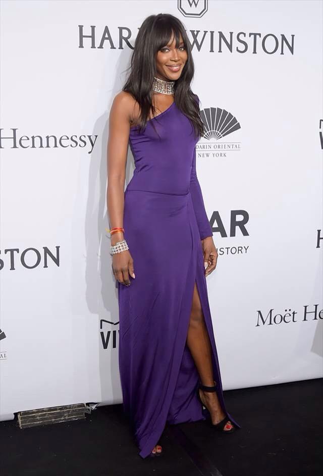 Naomi Campbell amfAR Gala New York 2015