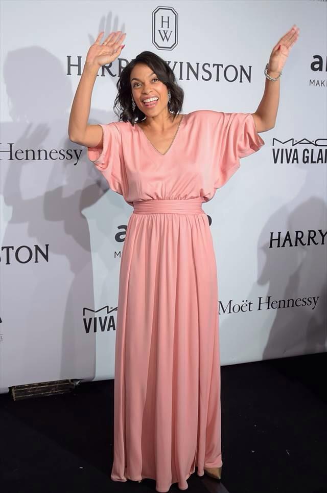 (Rosario Dawson amfAR Gala New York 2015)