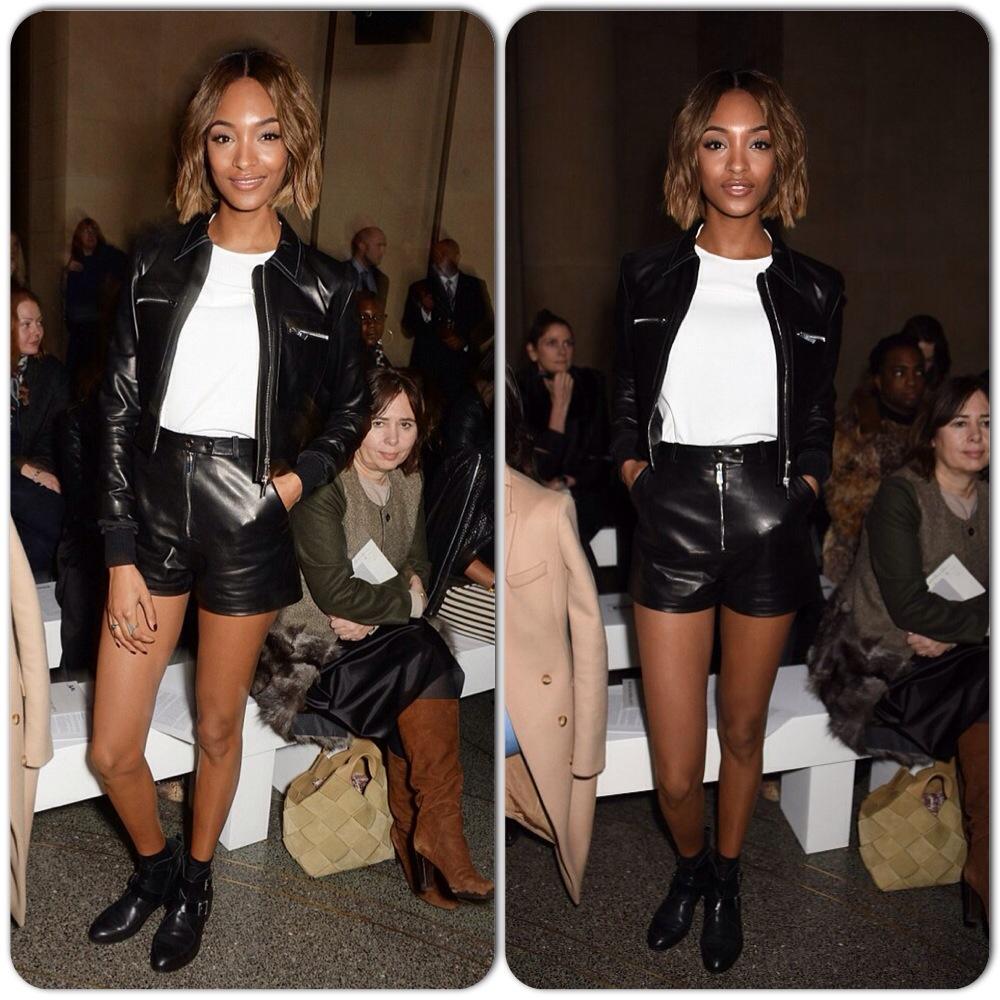 Jourdan Dunn Topshop London Fashion Week