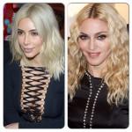 Madonna affirme que Kanye West est la Black Madonna que dire de sa femme Kim Kardashian devenue blonde?