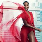 Lupita Nyong'o promeut Lancôme
