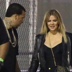 Khloe Kardashian et Kylie Jenner assistent au concert de Chris Brown avec French Montana