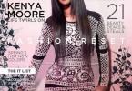 Kenya Moore couvre Kontrol Magazine