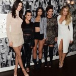 Khloe Kardashian, Kourtney Kardashian, Kendall Jenner, Kylie Jenner et la matronne Kris Jenner au Restaurant Craig