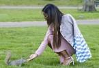Christina Milian Hyde Park à Londres