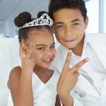Beyoncé dévoile a photos du mariage de sa Maman Tina, Sa fille Blue était la princesse du jour