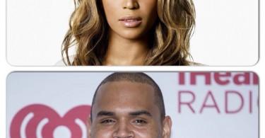 Beyonce et Chris Brown