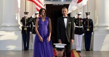 Michelle et Barack Obama State Dinner 2015