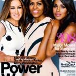 Michelle Obama fait la une couverture de Glamour Magazine avec Kerry Washington