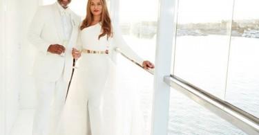 Mariage de Tina Knowles