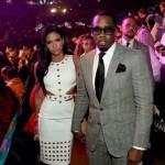 Cassie et Diddy assistent au match du siècle à Las Vegas