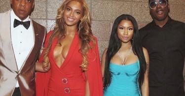 Jay-Z, Beyonce, Nicki Minaj, Meek Mill