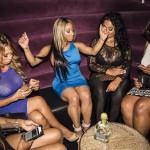 Blac Chyna a fait la fête avec la rappeuse Hazel-E-Baby à Las Vegas