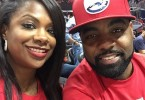 Kandi Burruss et Todd Tucker supportent Atlanta Hawks