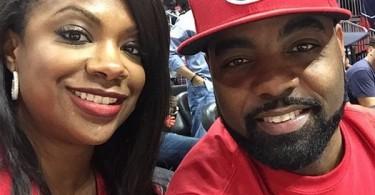 Kandi Burruss et Todd Tucker supportent Atlanta Hawks