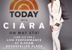 Ciara exhibe ses abdos Today Show