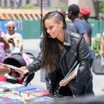 Alicia Keys tourne une vidéo commerciale en plein coeur de Harlem