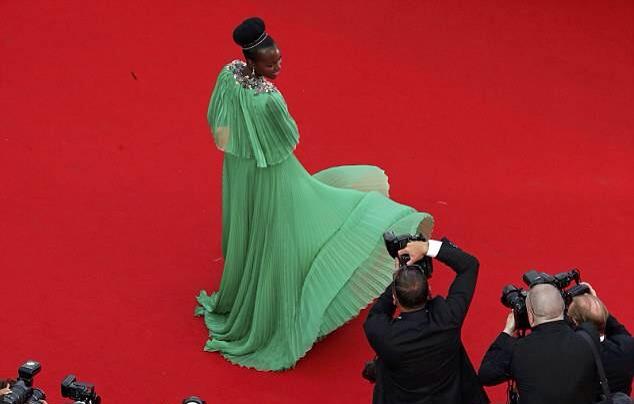 Lupita Nyong'o Festival de Cannes 2015