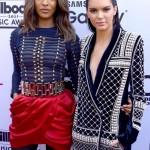 Kendall Jenner et Jourdan Dunn égerie de H&M et Balmain