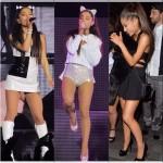 Ariana Grande sur scène à l'aréna O2 à Londres