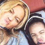 Beyonce et Blue Ivy passent du temps ensemble