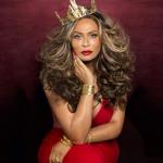 Tina Knowles fait la une de Ebony Magazine