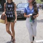 Taylor Swift et Selena Gomez déjeunent ensemble à Los Angeles