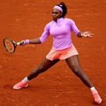 Serena Williams en quart de finale à Roland Garros 2015