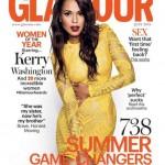 Kerry Washingon fait la une de Glamour Magazine