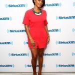 Jada Pinkett Smith tout en rouge pour une interview à SiriusXM