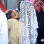 Kim Kardashian et Kanye West baptisent leur fille North West à la façon juive arménienne