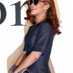 Rihanna en denim représente Dior à Tokyo