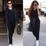 Janet Jackson et son mari Wissam Al Mana arrivent à Los Angeles