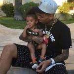 Chris Brown célèbre l'anniversaire de sa fille le jour de la fête des pères