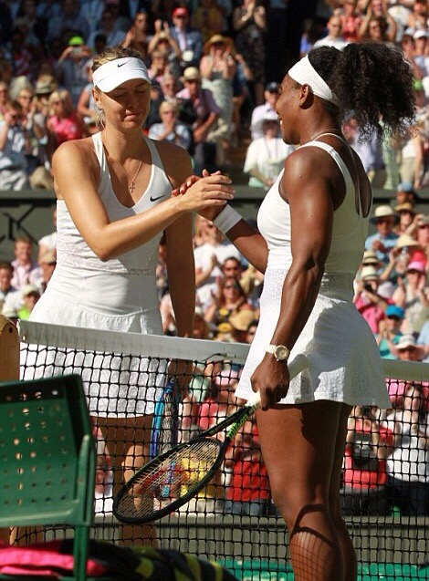 Serena Williams bat Maria Sharapova