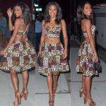 Gabrielle Union en mode African Print lors d'une soirée à New York City