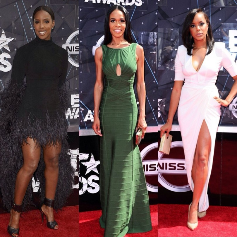 Kelly Rowland, Michelle Williams et LeToya Luckett BET Awards 2015