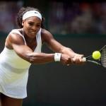Serena Williams qualifiées pour le 3ème tour wimbledon 2015
