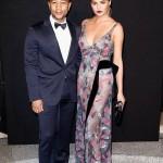 Chrissy Teigen et John Legend assistent au Gala de Vogue Paris après avoir encouragé les soeurs Williams à Wimbledon