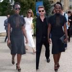 Lupita Nyong'o s'est rendue à la présentation de la nouvelle collection Martin Margiela