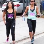 Kelly Rowland passe du temps avec sa coach préférée Jeanette Jenkins