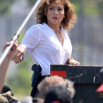 Jennifer Lopez adopte une coupe courte pour le tournage de Shades Of Blue, puis une sortie avec Casper Smart