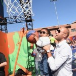 Ciara et Russell Simmons assistent aux Nickelodeon Kids Sports Choice